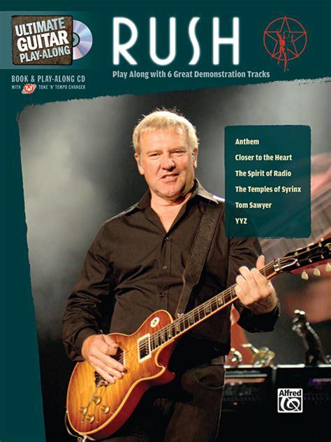 Ultimate Guitar Play Along Rush Authentic Guitar Tab Book Cd Ultimate Play Along