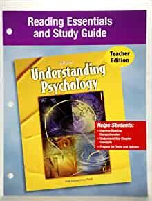 Understanding Psychology Essentials And Study Guide Answers