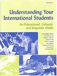Understanding Your International Students An Educational Cultural And Linguistic Guide Michigan