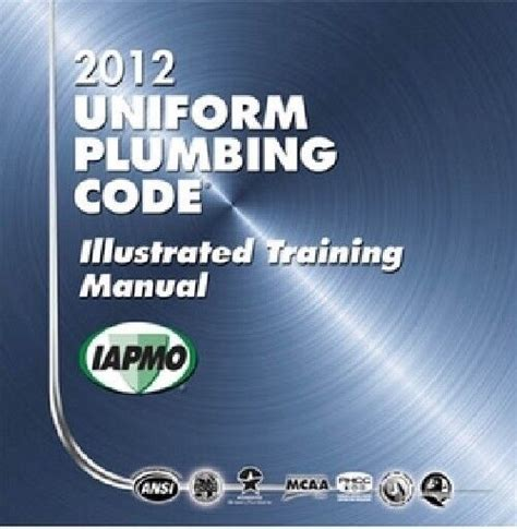 Uniform Plumbing Code Illustrated Manual