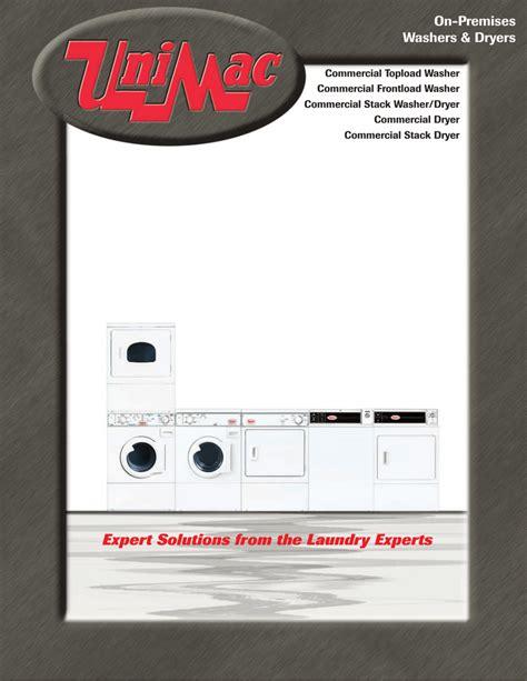 Unimac Washer Manual