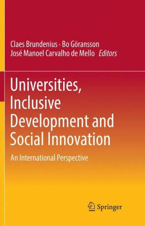Universities Inclusive Development And Social Innovation