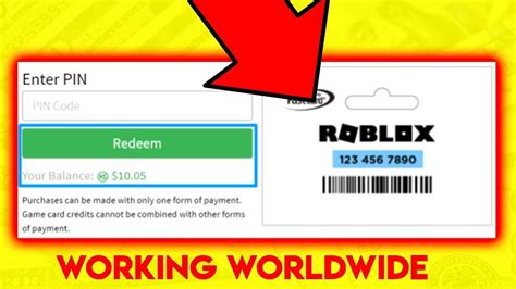 The 4 Things About Unused Roblox Gift Card Codes 2021
