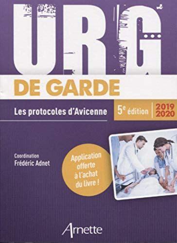 Urg De Garde 2019 2020 Les Protocoles D Avicenne