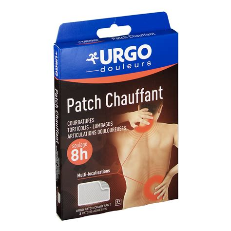 Urgo Patch Chauffant Bt 2