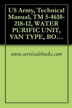 Us Army Technical Manual Tm 5 4610 218 12 Water Purific Unit Van Type Body Mounted Electric Motor Driven Ac Dc 11 Single And 3 Phase 60 Hz 120