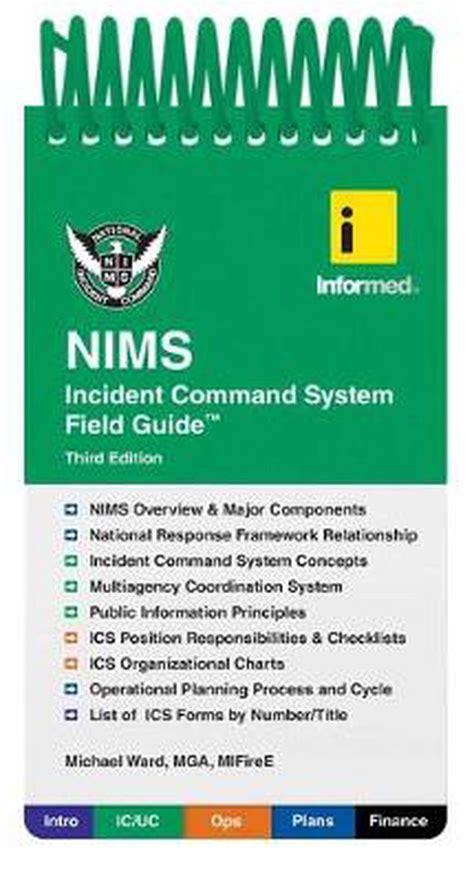 Uscg Nims Field Operations Guide
