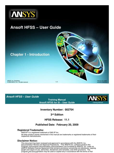 User Guide For Hfss 12