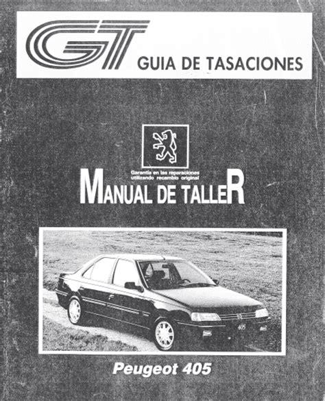 User Guide Manual Peugeot 405