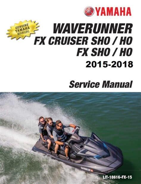 User Manual 2017 Yamaha Sho Waverunner