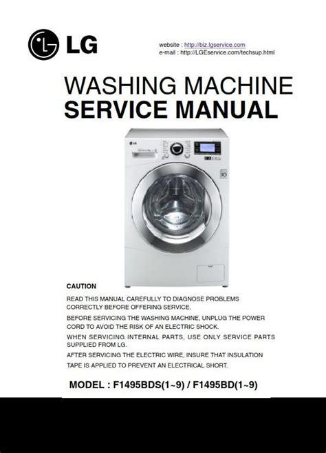 User Manual For Lg Washing Machines