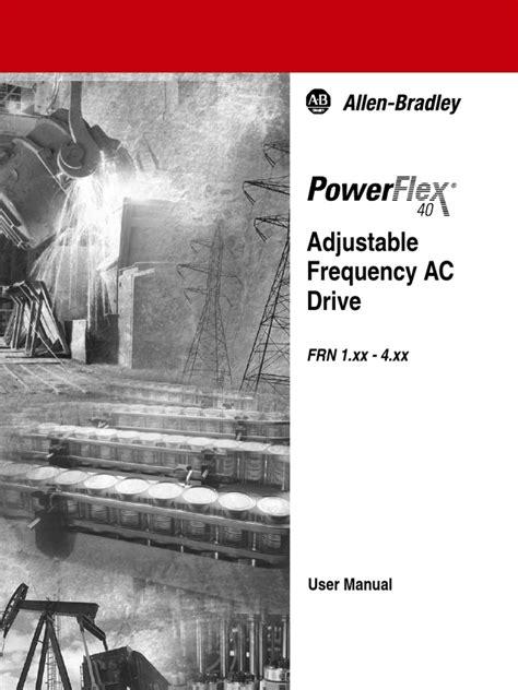 User Manual Powerflex 40
