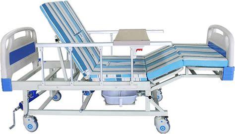 Uso En El Hogar Cuidado De Ancianos Cama De Hospital Medica Ajustable Con Inodoro Manual De Cuidado En El Hogar Aparatos Medicos Cama De Hospital