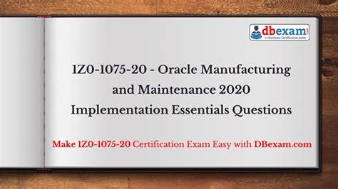 Valid 1Z0-1053-20 Exam Syllabus