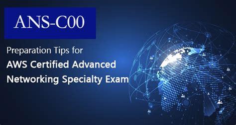 Valid ANS-C00 Exam Sample