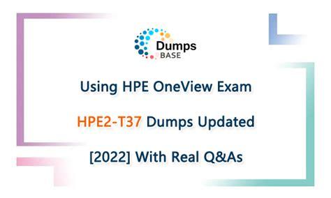 Valid Braindumps HPE2-CP03 Questions