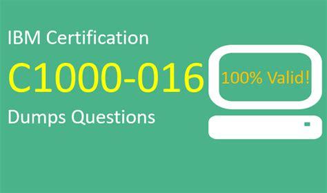 Valid C1000-119 Exam Dumps