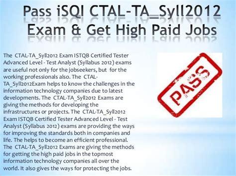 Valid CTAL-TTA_Syll2012 Exam Tips
