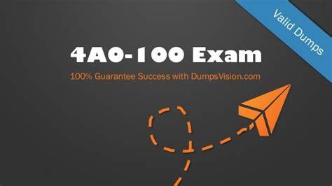 Valid Exam 4A0-210 Registration