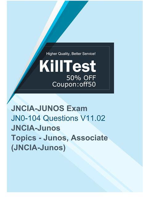 Valid JN0-104 Exam Prep