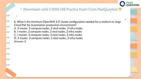 Valid Test C1000-018 Experience