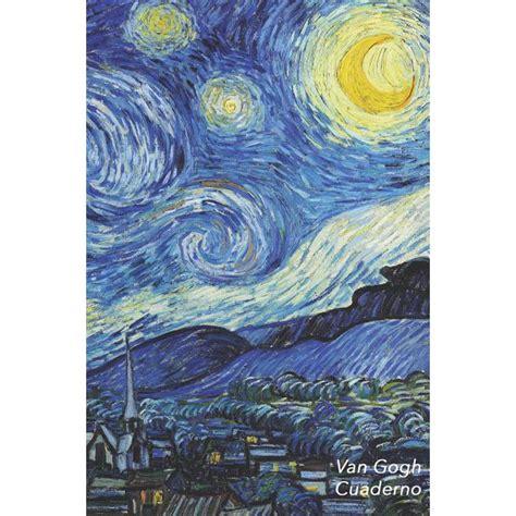 Van Gogh Cuaderno La Noche Estrellada Vincent Van Gogh Elegante Y Practico Libreta Para Escribir Para Tomar Notas Cuadernos Para Escribir