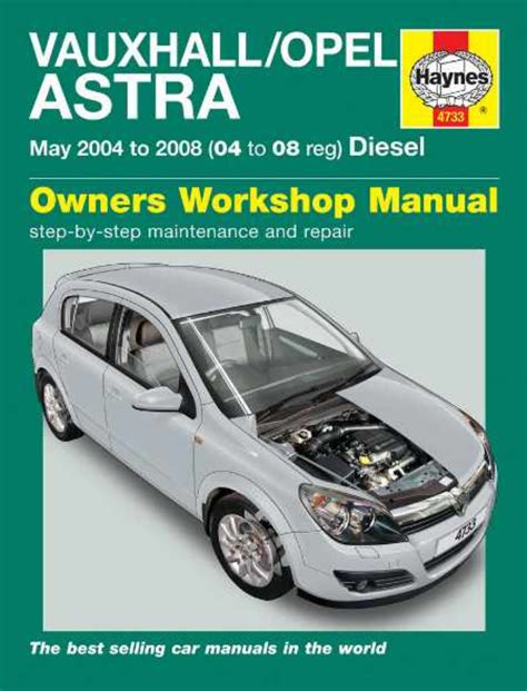 Vauxhall Astra 05 Workshop Manual