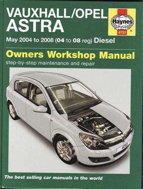 Vauxhall Astra G Repair Manual