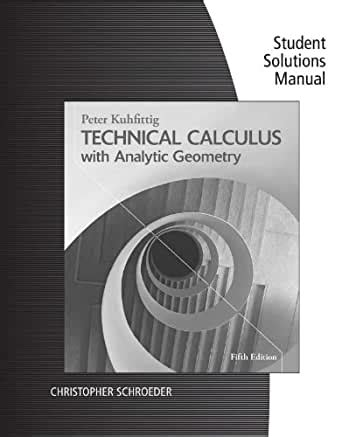 Vector Calculus 5th Edition Solution Manual