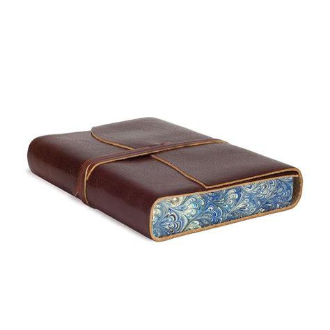 Venezia Romantica Leather Journal / Notebook, Handmade Classic Italian Style, Including Special Box (12x17 cm)