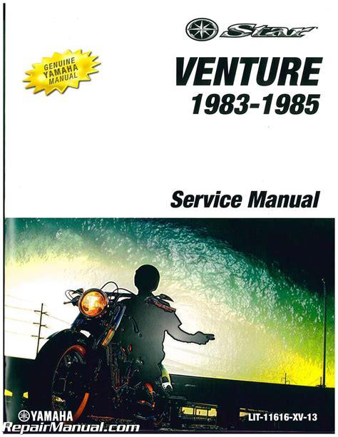 Venture Royale Parts Manual
