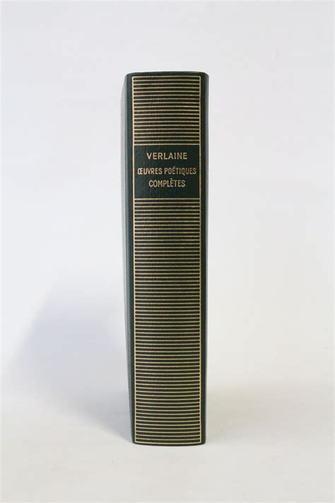 Verlaine Oeuvres Poetiques Completes
