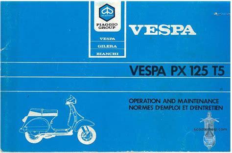 Vespa T5 Owner Manual