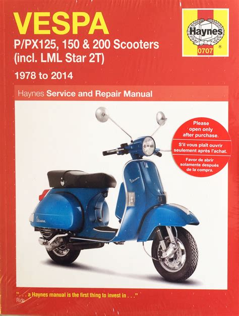Vespa T5 Workshop Manual