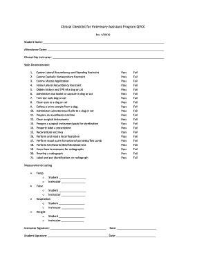 Veterinary Practice Training Manual