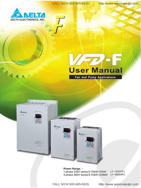 Vfd Service Manual