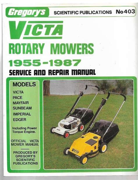 Victa Lawn Mowers Repair Manual