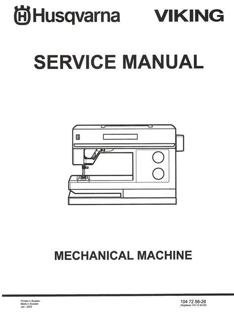 Viking Sewing Machines Repair Manual