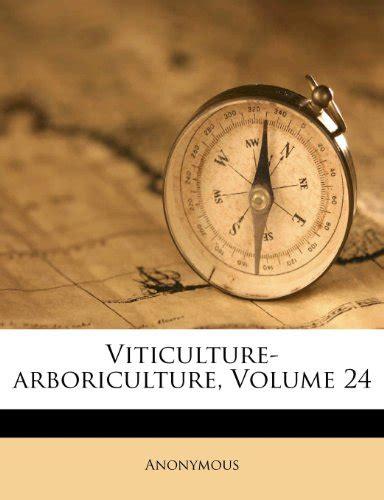 Viticulture Arboriculture Volume 23