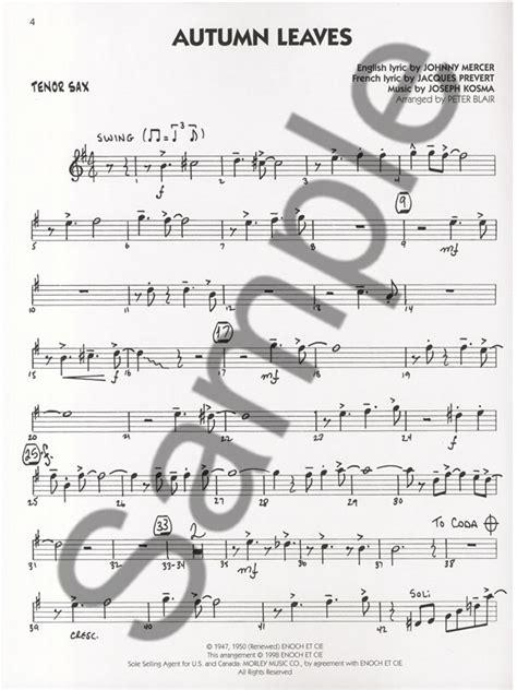 Vocal De Play Along Acoustic Rock Tenor Saxophone Para Saxofon Tenor