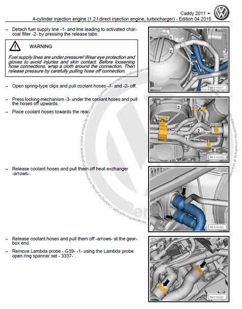 Volkswagen Caddy Factory Service Manual