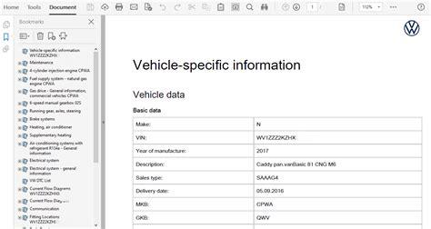 Volkswagen Caddy Tdi User Manual