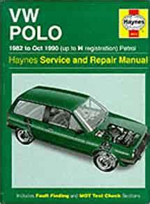 Volkswagen Polo 1982 90 Service And Repair Manual Haynes Service And Repair Manuals