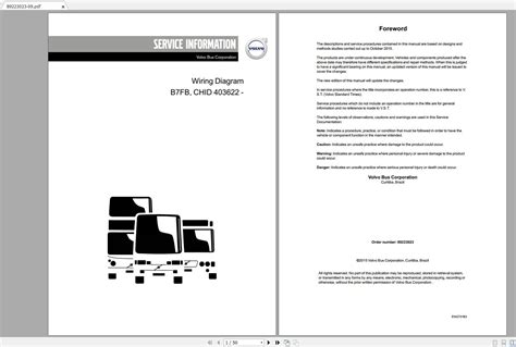Volvo B7fb Lorry And Bus Service And Repair Manual