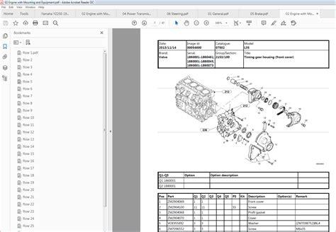 Volvo L35 Compact Wheel Loader Service Parts Catalogue Manual Instant Sn 1860001 1860461 1880001 1880045 1890001 1890073