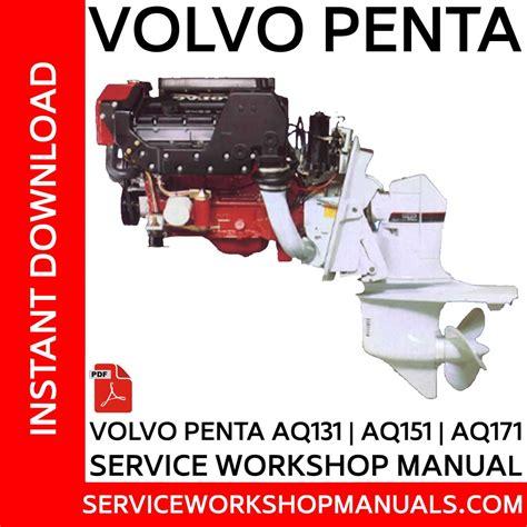 Volvo Penta Aq170 Manuals