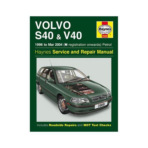Volvo S40 Haynes Manual Swedish