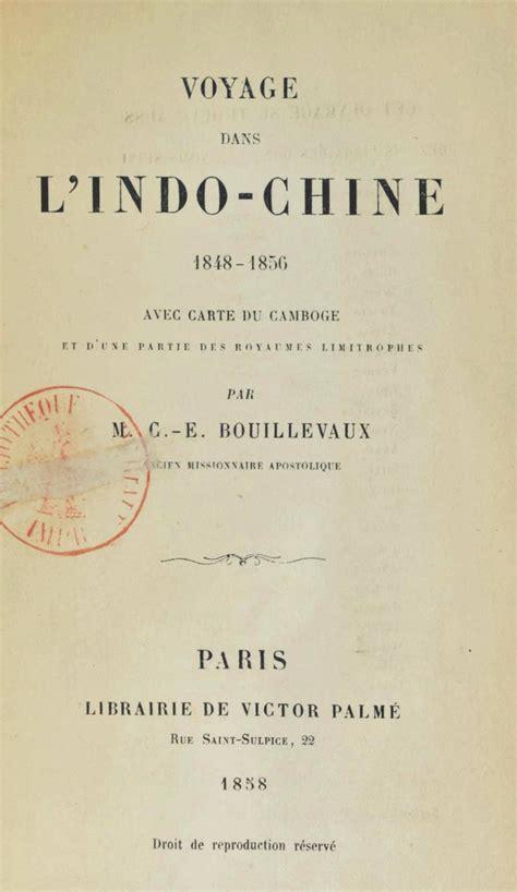 Voyage Dans Lindo Chine 1848 1856