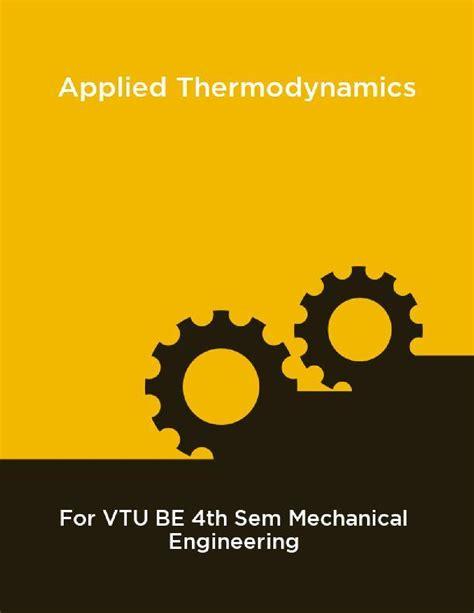 Vtu Applied Thermodynamics Guide